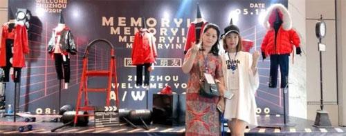 两个小朋友2018秋冬订货会湖南站震撼全场