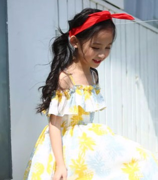 萌娃季 让一条仙气满满的裙子带你甜美一夏吧