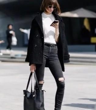 春夏鞋时尚 鞋柜里必备的颜色 万能的小黑靴