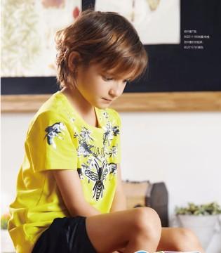 孩子炎天T恤得这么选 YuKi So童装品牌!