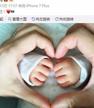 新手妈妈胡杏儿微博分享哺乳心得