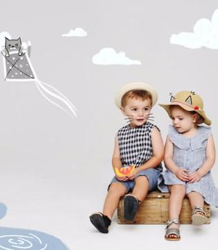 韩国时尚童装品牌Dear baby 不一样的童趣展现!