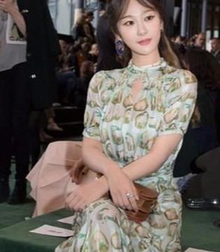 杨紫的一身纱裙 伴你清凉一夏