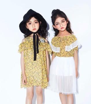 维尼叮当——夏季碎花元素儿童连衣裙搭配!