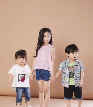 夏季儿童时尚休闲服饰搭配 贝布熊龙8国际娱乐官网品牌