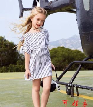 可娃衣童装品牌 夏季儿童连衣裙怎么搭配?