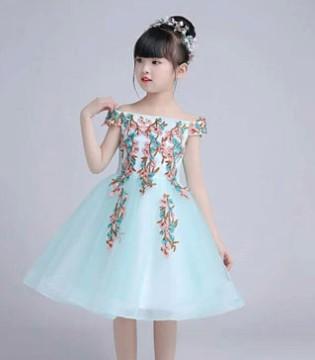 魔方童装:六一孩子表演节目穿这个裙子好看!