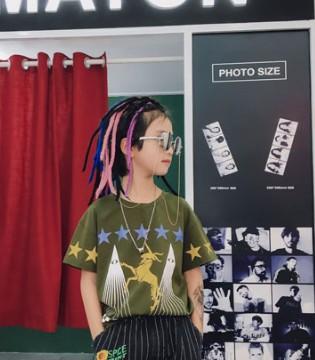 玖喆潮童:夏季儿童T恤服饰搭配推荐!