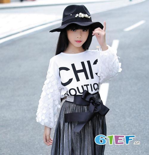喜讯!淘气贝贝童装品牌入驻中国品牌童装网!