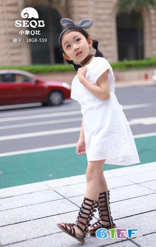 小象Q比女童夏季时髦衬衫搭配技巧!