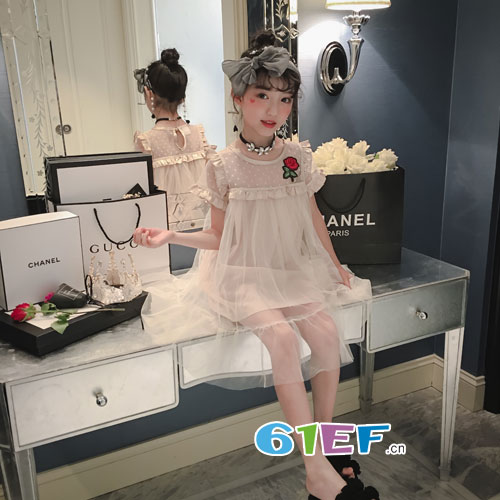 玖�闯蓖�童装品牌:夏季新款连衣裙 不潮不用花钱!