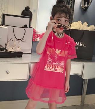 玖喆潮童童装品牌:夏季新款连衣裙 不潮不用花钱!