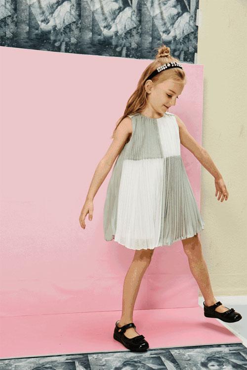 法纳贝儿童装 黑白灰 不一样的夏日主打色
