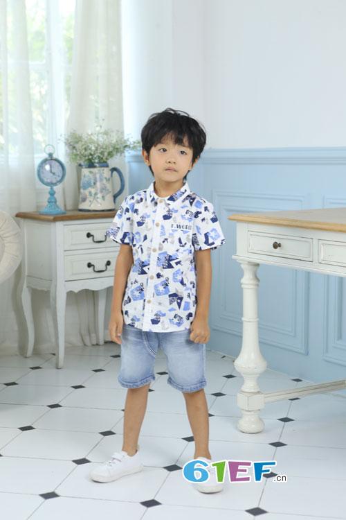 凡兜童装:一个孩子一个元素就是夏天的范儿!