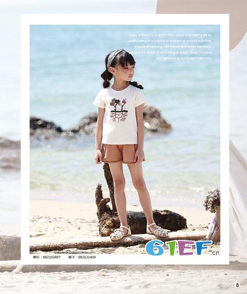 童装时尚不只是花里胡哨 还要气质――德蒙斯特!