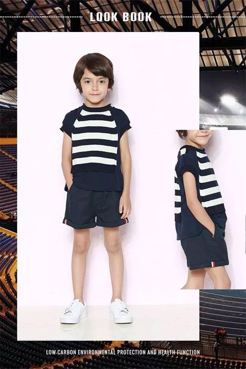 时尚小鱼童装 穿新衣 开启世界杯潮流模式!
