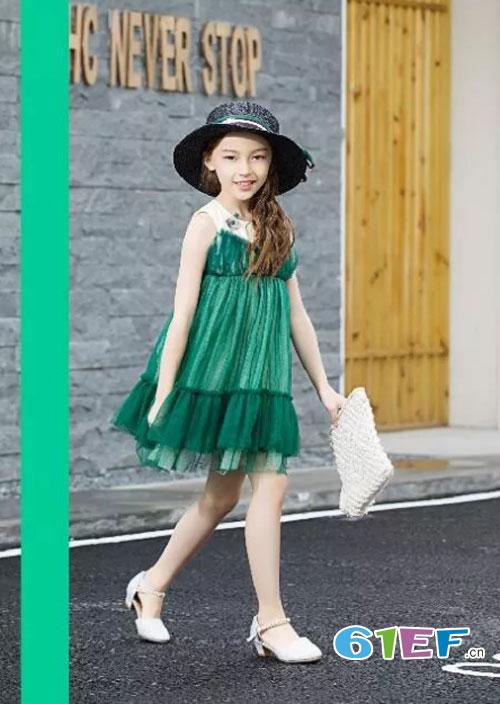 六月的惊喜 源自莉莉日记新潮童装系列