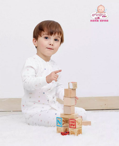 Chouchou婴幼童装 宝宝的内衣不容小视