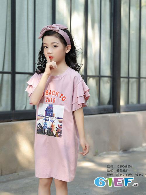 淘气贝贝童装写真 与你一起享受夏日的乐趣与自在