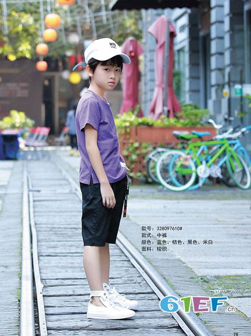 淘气贝贝<a href='http://news.61ef.cn/list-12-1.html'  style='text-decoration:underline;'  target='_blank'>童装</a>写真 与你一起享受夏日的乐趣与自在