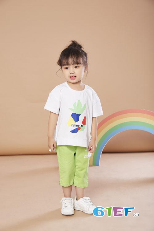 最后的夏天 最后的馈赠――贝布熊7月暑期T恤搭配推荐!
