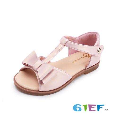 2018流行的舒适好穿女童凉鞋 暑假乐游游