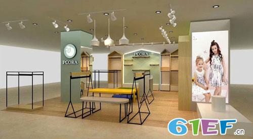 热烈祝贺巴柯拉(PCORA)童装品牌山东青州店开业大吉!