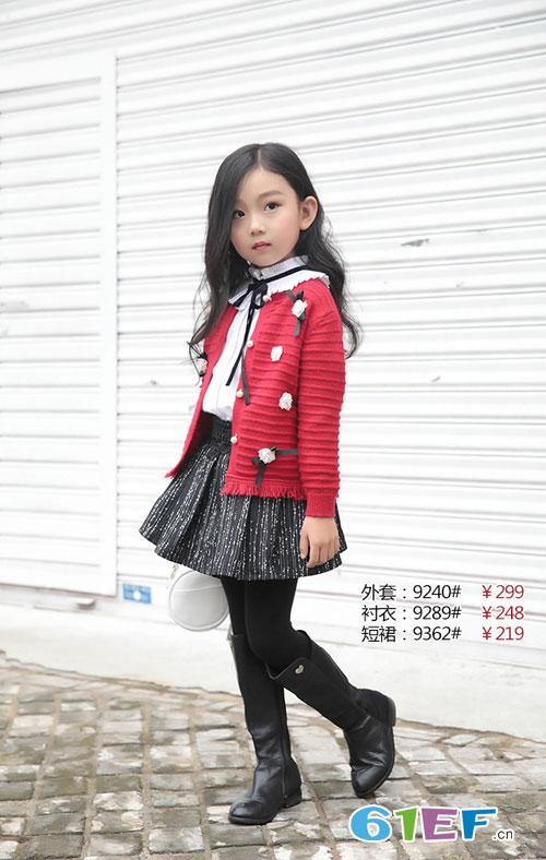 喜讯!米芝儿<a href='http://www.61ef.cn/brand/list-15-0-0-0-0-1.html'  style='text-decoration:underline;'  target='_blank'>童装品牌</a>2018秋季新品上架啦!