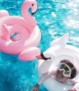 家长们怎么给孩子挑选高颜值的儿童游泳圈 ?