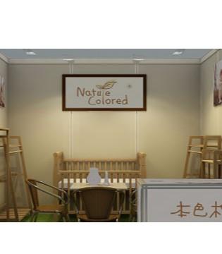 本色棉携新品参加上海18届孕婴童用品展