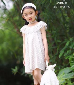不重样的童真――小象Q比童装品牌裙装搭配!