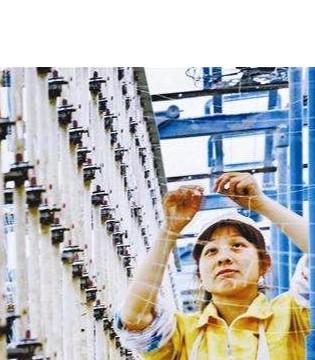 """实施""""机器换工"""" 加快转型升级 长汀纺织产业实现绿色发展"""