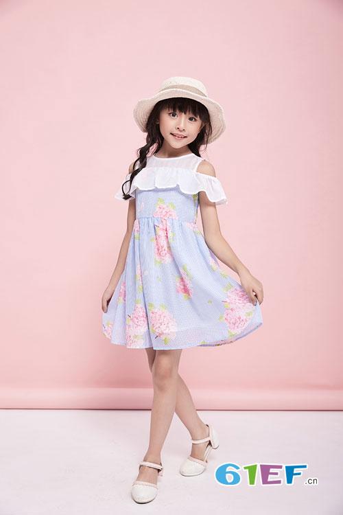 暑假已到来 穿上可趣可奇连衣裙更时尚