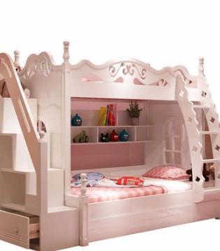 选一张漂亮的儿童床 让宝宝养成独自睡觉的好习惯
