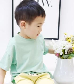 木言汀童装 夏日里帅气的男童T恤搭配