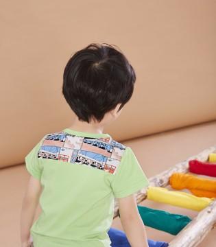 我喜欢孩子 就像孩子也喜欢我一样 贝布熊童装品牌!