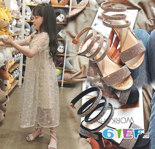 夏日女童凉鞋C位出道 解锁小公主时尚魅力