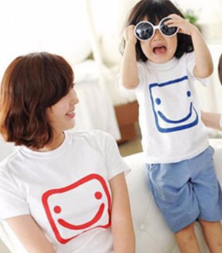 夏日时尚出门 亲子装带给你跟宝贝满满的幸福感