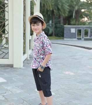再热也能让孩子活力十足――淘气贝贝儿童T恤搭配!