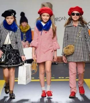 五月童品服饰联合登陆中国国际儿童时装周