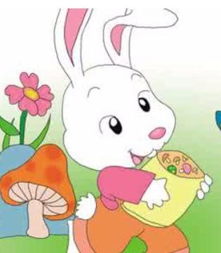 听1001夜童话童装讲故事 爱吃零食的小白兔