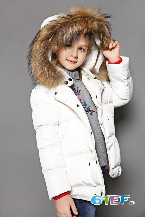 泡泡噜童装秋冬时髦羽绒装备 温暖欢乐童年