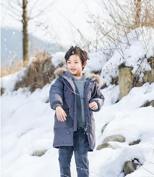 可娃衣2018秋冬新款 让孩子温暖时髦过一冬