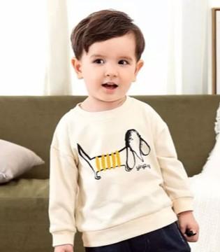 宝贝想去浪 穿婴姿坊卫衣吧!童趣又时尚