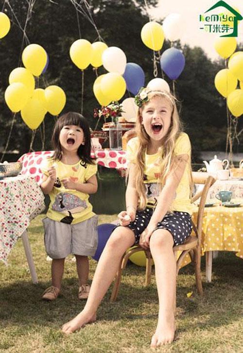 可米芽生态童装品牌    守护纯净童年