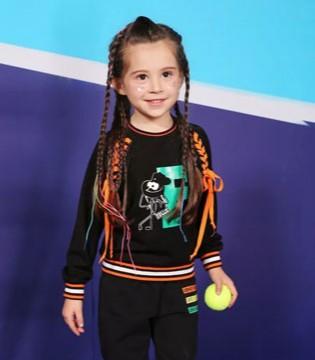 2018女童秋季运动套装   打造萌娃时髦装扮