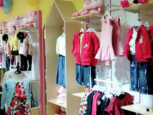 热烈庆祝尚女士芭乐兔童装加盟店盛大开业
