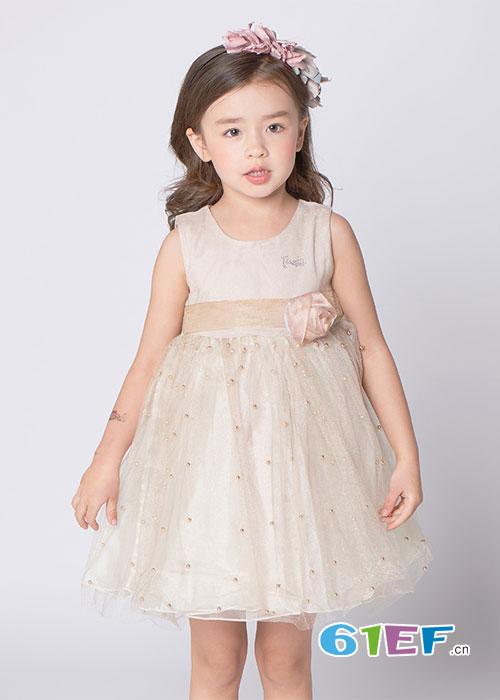 芭比女童公主连衣裙  做个梦幻小公主