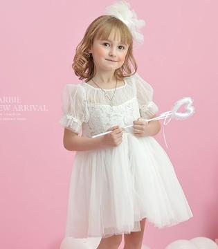 芭比童装秋季连衣裙  做个梦幻小公主
