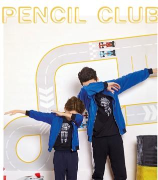 秋季就要躁 活力无极限――铅笔俱乐部童装
